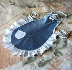 Reciclando jeans y camisa