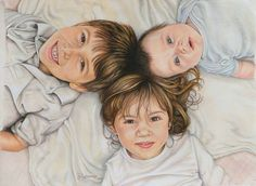 Portraits in Colored Pencil by Joan L. Garcia