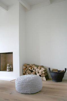 Amazing minimalist and rustic #Interior #Design.