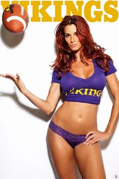 Let's celebrate Monday night football with what else? More sexy NFL babes. Vikings Cheerleaders, Dolphins Cheerleaders, Football Cheerleaders, Best Football Team, Football Girls, Nfl Football, Cheerleader Girls, Football Memes, Female Football