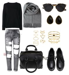"""""""Untitled #447"""" by aatk on Polyvore featuring Christian Dior, Frame Denim, Givenchy, Accessorize, Natasha Accessories, Forever 21, women's clothing, women's fashion, women and female"""