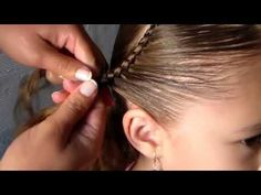 Peinados Elegante Para Primera Comunión 2017 - YouTube