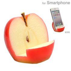 [各種スマートフォン対応]食品サンプルスタンド(リンゴ)