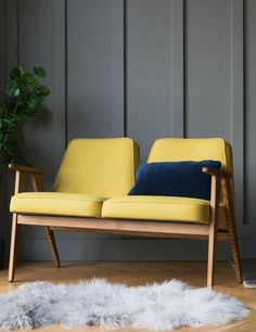 Jozef Chierowski 366 Two Seater Wool - four colours available 3