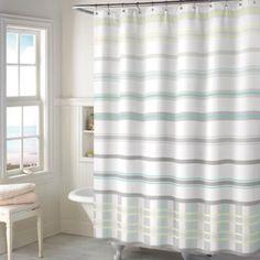 Baltic Plaid Shower Curtain