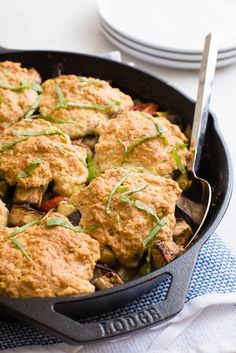 Recipe: Skillet Ratatouille Cobbler — Quick and Easy Weeknight Sides