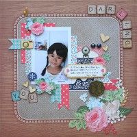 A Project by Tomomi Hiramaru from our Scrapbooking Gallery originally submitted 09/28/12 at 07:46 AM