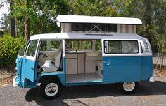 My fully restored 1975 VW Kombi camper