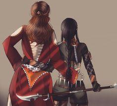 By iihabooshii; Nina and Inej