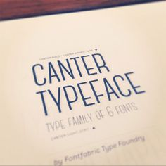 Canter – contemporary free font - Fontfabric - more images on http://on.dailym.net/1ioPsHI #Canter, #Christopher-J-Lee, #Contemporary-Free-Font, #Font, #Free-Font, #Lettertype