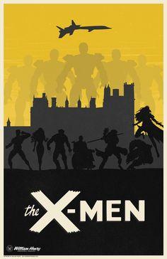 X-Men Poster - William Henry