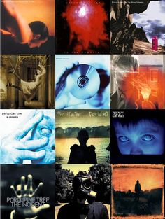 Porcupine Tree CD covers
