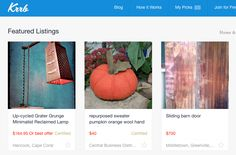 Krrb (pronounced 'curb') is a 'hyperlocal' marketplace to find globally inspired furnishings. You can set a location and search nearby sellers or curated collections, but Krrb does not deal with the transactions or delivery. You can post via the website or the app, and there's even a function that aggregates postings from other websites like eBay and Etsy right to Krrb. They don't charge commission, but listings cost 'credits' that you buy or earn through things like filling out a profile…