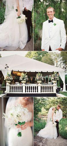 drop dead beautiful wedding. click!