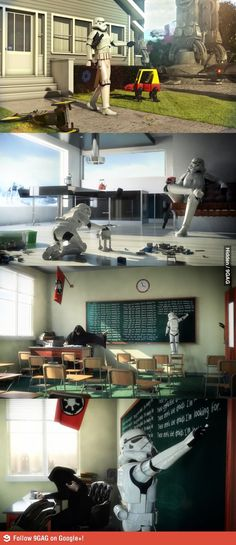 Daily life as a Stormtrooper
