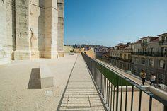 Álvaro Siza restaura entorno do Convento do Carmo em #Lisboa