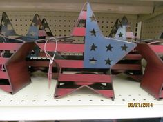 Stock up on decor for holidays such as Memorial Day, President's Day, Labor Day, and of course The Fourth of July.  Get decor off season and on sale and you won't hurt your designing plan budget!  www.a-four-seasons-home.com