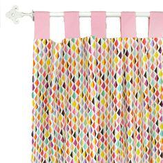 Rhapsody in Pink Curtain Panels (pair)