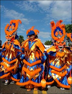 The carnaval dominicano, which is celebrated throughout all of Feburary.