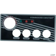 Overlay, Tecmark Command Center, 4 Button