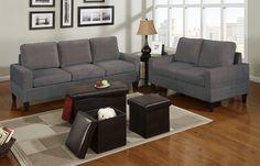 Simple Bobs Furniture Sofa Bed — Home Design StylingHome Bobs Furniture Living Room, Sofa Furniture, Living Room Chairs, Furniture Sets, Living Rooms, 5 Piece Living Room Set, Grey Living Room Sets, Sofa Bed Home, Bedroom Sofa