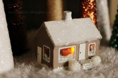 Rust & Sunshine: 12 Days of Christmas Ornaments - Day 4: Our Tiny House