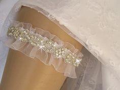 Wedding Garter Wedding Garter Wedding Garter by nanarosedesigns