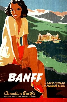 ART & ARTISTS: Vintage Travel Posters -