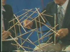 Buckminster Fuller on Tensegrity Structures - YouTube
