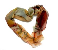 Alphonse Mucha Silk scarf. Hand painted scarf Art Nouveau . Luxury gift for her. Ready to ship. on Etsy, $127.86 AUD