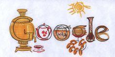 """Дудл для Google: """"Мой город. Моя страна. 30 лучших работ юных художников на тему """"Мой город. Моя страна""""  Зайцев Федор, г. Москва Я люблю пить чай из самовара с баранками. На праздник масленицы ем блины с медом."""