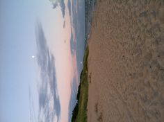 Sands of Miniwanca at twilight. This is my aunts camp!