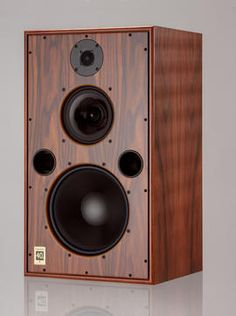 These speakers have twin bass ports on its front baffle, and all-metal cable binding posts on its backside.