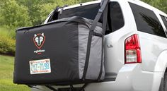 The Cargo Saddlebag is a 100% waterproof luggage Carrier that rests on the back of your vehicle.