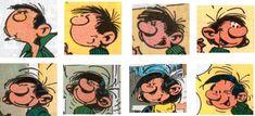 9emeart:  Gaston change de tete Franquin