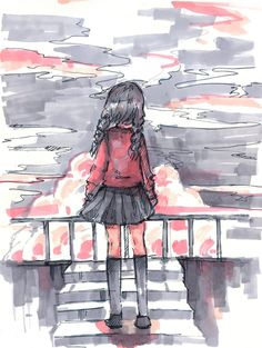 Yume nikki sketch by Angelmewkaro on DeviantArt Rpg Maker, Maker Game, Amy Wood, Creepy Games, Yume, Mad Father, Rpg Horror Games, Yandere Simulator, Witch House