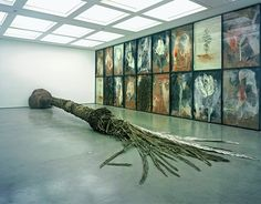 Anselm Kiefer, Palmsonntag 2006 Mixed media Dimensions variable . Installation, Nature, Trees.