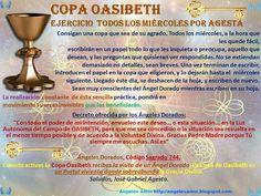 Ángeles Amor: TODOS LOS MIERCOLES: Pide lo que Deseas en la COPA de OASIBETH Por Agesta