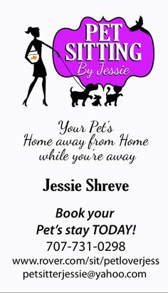 37 Best Pet Sitting Business Cards Images Pet Sitting Business