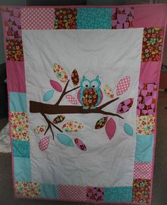 Owl Quilt -too cute!