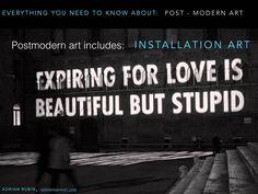 Know Postmodern art NOW #pomo #fineart #adrianrubin
