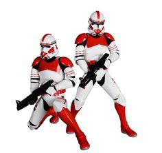 Pack 2 estatuas Star Wars. Shock Trooper, 18 cms. Edición limitada ARTFX. Kotobukiya