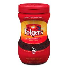 Classic Roast Instant Coffee – Folgers Coffee