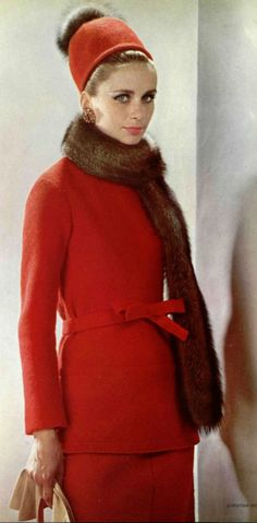 Christian Dior modeled by Suzy Parker, 1962.