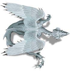 8041-White Dragon Facing East