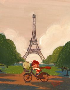 Paris by Lorelay Bove