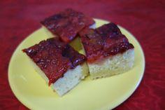 LA VERA  IN BUCATARIE: Prajitura cu prune caramelizate