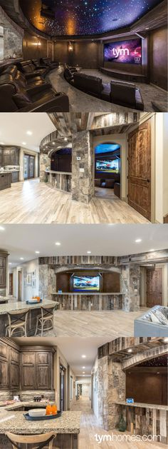 """""""People's Choice Award"""" 2015 Salt Lake Parade of Homes. Home entertainment & automation control by TYM. Featuring #SavantSystems control, Sony 4K Home Theater with Dolby Atmos, whole-home audio."""
