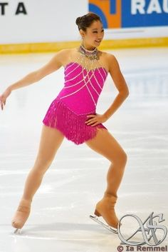 A collection of Pink Panther figure skating dresses for inspiration, collected by Sk8 Gr8 Designspink mirai nagasu - Google Search