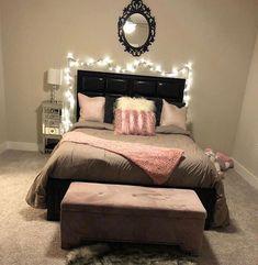 Small Room Bedroom, Dream Bedroom, My Room, Teen Bedroom, Master Bedrooms, Living Room Decor Cozy, Teen Room Decor, Bedroom Decor, Bedroom Inspo